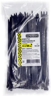 Хомуты нейлоновые КРЕПТОН 2,5х150мм черные арт. 90149